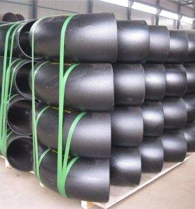 الكربون الصلب WPB A234 ASTM بوت لحام الأنابيب والتجهيزات الكوع