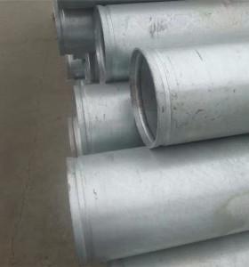 TUBOS DE ASTM A53 GR.B GI Tubo galvanizado en caliente con extremos ranurados