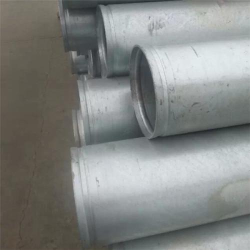 ASTM A53 GR.B GI PIPES مواسير مجلفنة ساخنة ذات نهايات مجوفة
