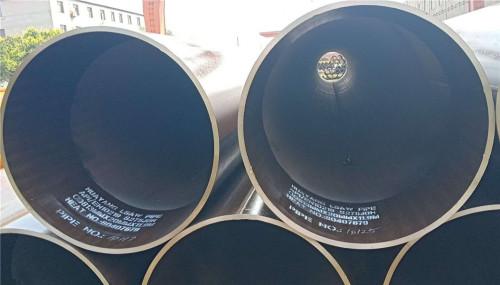 EN 10219-1 S355J0H LSAW أنابيب الصلب لفي الخارج الأنابيب