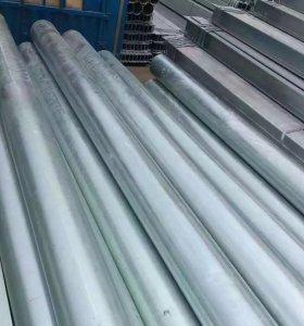 DIN2445 Galvanized Air Pressure Gas Steel Tube Pipe