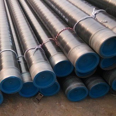 Api 5l 3lpe revestimiento de tubería sin costura y api 5l grado x52 tubería de acero al carbono