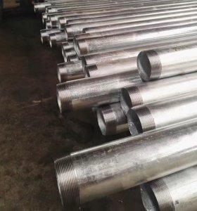Tubo de acero sin costura de carbono galvanizado laminado en caliente