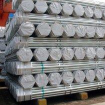 ASTM A53 hot dip galvanized steel tube, S235JR pre galvanized steel pipe, erw galvanised steel pipe