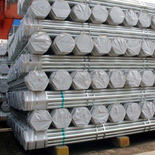 أنابيب الصلب المجلفن بالغمس الساخن ASTM A53 ، أنابيب الصلب المجلفن S235JR ، أنابيب الصلب المجلفن