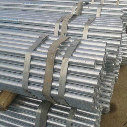BS1387 جدول ASTM A53 80 أنابيب الصلب المجلفن بالغمس الساخن