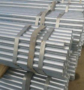 Tubo de acero galvanizado en caliente ASTM A53, tubo de acero pregalvanizado S235JR, tubo de acero galvanizado erw