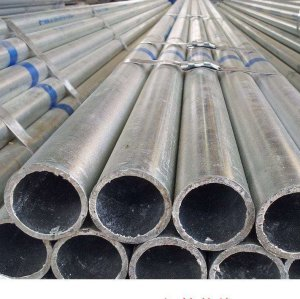 BS1387 ASTM A53 schedule 80 Hot Dipped Galvanized steel pipe