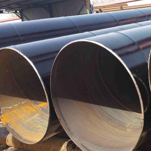Api 5l X42 X60 X65 X70 X52 800mm قطر كبير SSAW الكربون دوامة