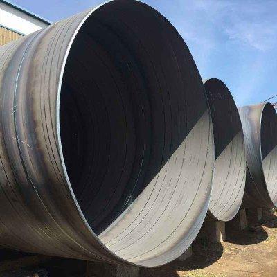 Api 5l X42 X60 X65 X70 X52 800mm Large Diameter SSAW Carbon Spiral