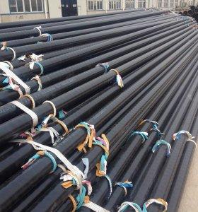 Tubo de acero Erw recubierto de epoxi DIN30670