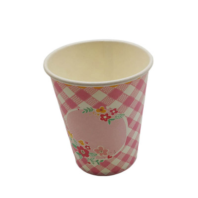 New Design Fashion Style PaperCup7 Oz Wholesale Manufacture Printed Logo