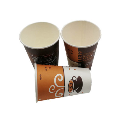 PLAbiodegradable disposable coffee cafe tea drinks paper cups