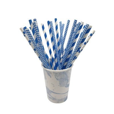 Customize Color and Eco friendly Paper Straw for Party Supplies