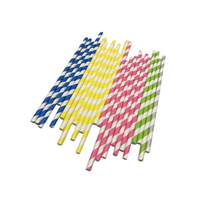 Christmas Paper Straws Biodegradable Disposable DrinkingStraws for party celebration