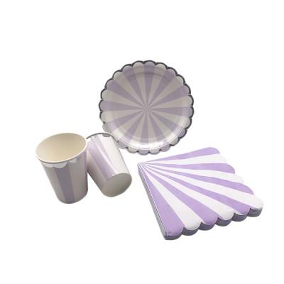 Charismas Birthday Food grade biodegradable Disposable Tableware-Party Set