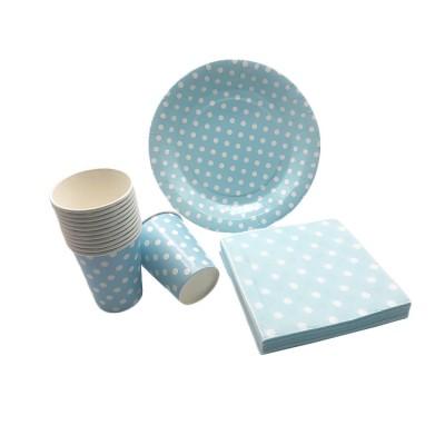 Christmas Birthday PartyPlates Napkins Cups Disposable Dinnerware Tableware Set