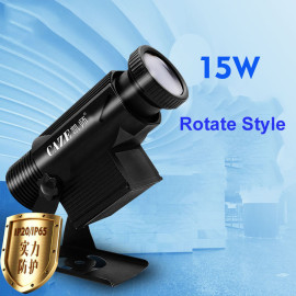 15W rotate type led gobo projection light