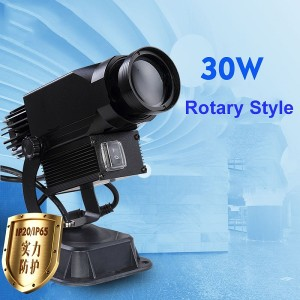 30W rotate type led gobo projection light