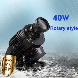 40W rotate type led gobo projection light