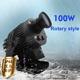 100W rotate type led gobo projection light