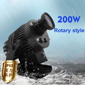 200W rotate type led gobo projection light