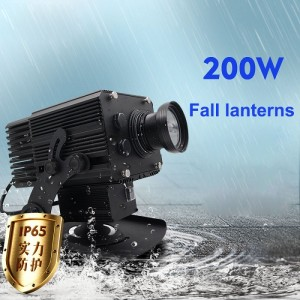 200W Fall lanterns led gobo projection light