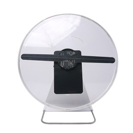 New arrival Portable advertising equipment with battery 30cm mini 3d hologram projector