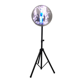 For all size fan Black color adjustable bracket 3d holographic fan Professional portable stand fan tripod