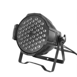 Guangzhou manufacturer led 54 3w par light / wash indoor dmx rgbw led par can light
