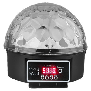 Promotion price 9*1w RGBW KTV bar Wedding Party mini led magic mirror disco ball light