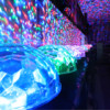 The cheapest led crystal magic ball