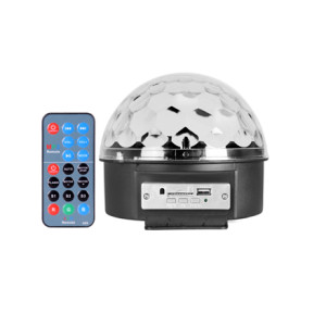 new arrival RGB /dj/ disco/ remote controlled LED magic ball light