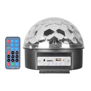 2019 China Disco party stage magic ball mp3 player led light party speaker