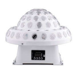 Newest cheap Logo Animation Projector LED Moving Head Magic Ball Lamp Disco Pro Lighting