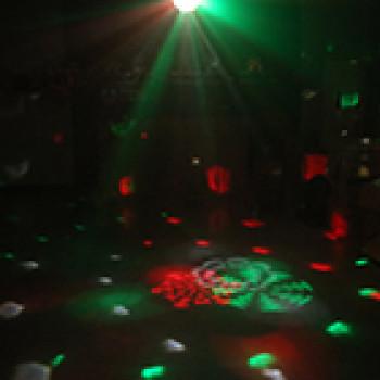 Popular led flash disco stage light projector crystal magic ball light