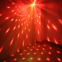 16 pattern+led magic laser parts disco stage led light magic ball text laser projector