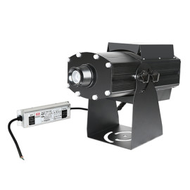 High power 4 logos rotating and stastic waterproof 150w led logo projector