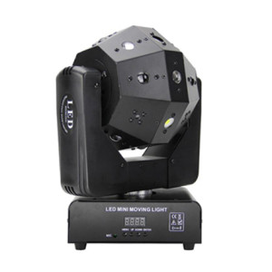 Newest 360 degree rotating led night club for sale 36 in 1moving head laser dico dj light