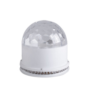 LED RGB 3*1w lamp bead Auto Mini Crystal Magic Ball disco led stage ball light party light