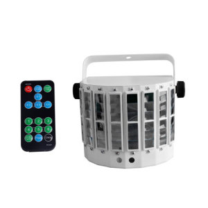 multi color with laser projector butterfly spider beam music activated LED Interlaced Beam Effect club lighting Equipment
