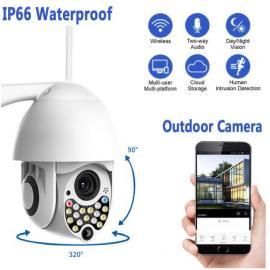 200W Security HD 1080P IP Camera wireless outdoor New 17LED 2MP high-speed CCTV IR Camera