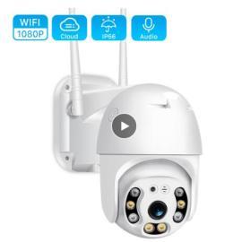 H.265 1080P Wifi Camera Outdoor 2MP Cloud PTZ Camera Speed Dome ONVIF Wireless Camera Two Way Audio