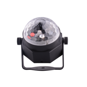 Popular 3W LED Bulbs Crystal Ball Car USB Sound Control Active Home Party Disco Bar Music Rhythm DJ Light Dancing Lamp