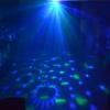 Popular 3W LED Bulbs Crystal Ball Car USB Sound Control Active Home Party Disco Bar Music Rhythm DJ Light Dancing Lamp
