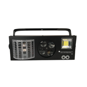 New products 2017 butterfly effect led gobo projector strobe 4 in 1 led stage lighting
