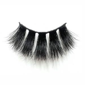 Wholesale private label 25mm 5d mink lashes