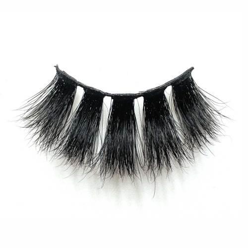Wholesale private label 25mm 3D 50A mink lashes