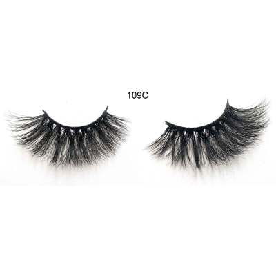 25mm 109C Mink Strip Dramatic False Eyelashes