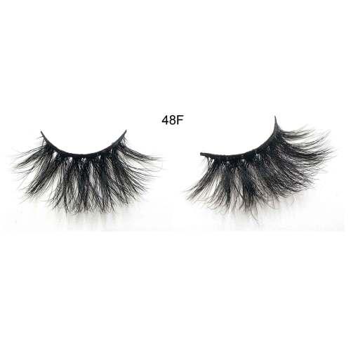 Luxurious fluffy  48F Fake Mink Eyelashes